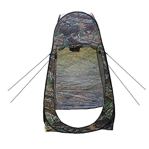 Nicetruc Pop Up WC Portátil WC Carpa Camping Cambio De Vestir Carpa Baño Trastero