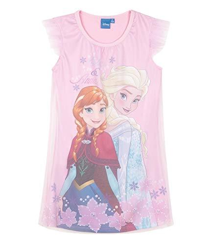 Disney Die Eiskönigin Mädchen Nachthemd Rosa 128