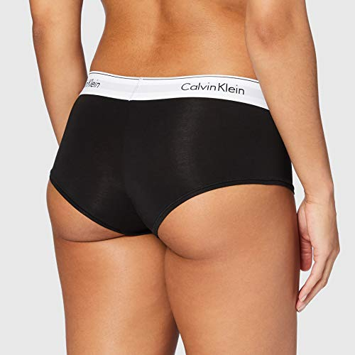 Tommy Hilfiger Short Culotte Garconne, Negro 001, 42 (Talla del Fabricante: X-Large) para Mujer