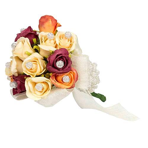 Ramo Floral Decorativo de Novia para Alfileres