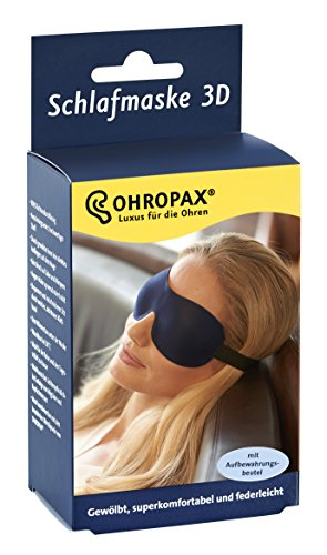 Ohropax 3D sleeping mask.