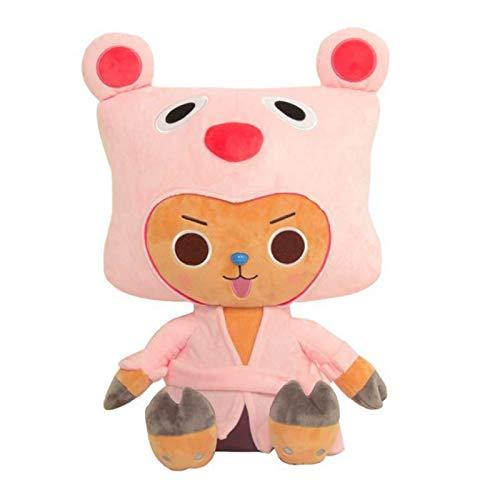SDSG Anime One Piece Chopper Plüsch Kawaii Kissen Weiche Kuscheltiere Niedliche Cartoon Spielzeug Geschenke Für Kinder 45Cm