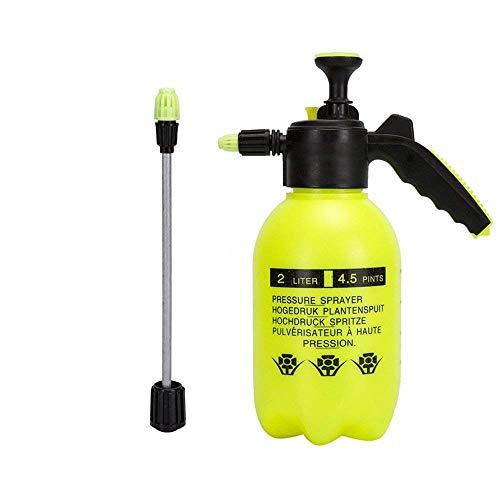 Pulverizador De Presión De Una Sola Mano, 2 Litros, Botella De Spray Portátil Para Jardín, Hervidor De Plantas, Herramienta De Riado, AJardinería, Fertilización, Limpieza