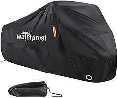 Enzeno Fietshoes voor 1 of 2 fietsen, Fietshoezen voor buiten, 210D Nylon Waterdicht Anti Stof Regen UV-bescherming voor...
