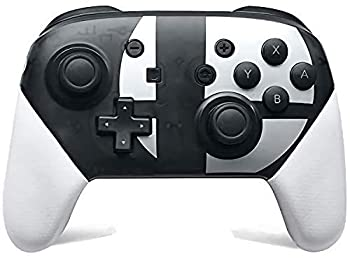 Switch Pro Controller for Nintendo Switch Supports Gyro Axis and Dual Vibration,Perfectly Compatible with Nintendo Switch and PC,Adjustable Turbo and Dual Vibration Black and White