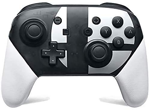 Switch Pro Controller for Nintendo Switch, Supports Gyro Axis and Dual Vibration,Perfectly Compatible with Nintendo Switch and PC,Adjustable Turbo and Dual Vibration.(Black and White)