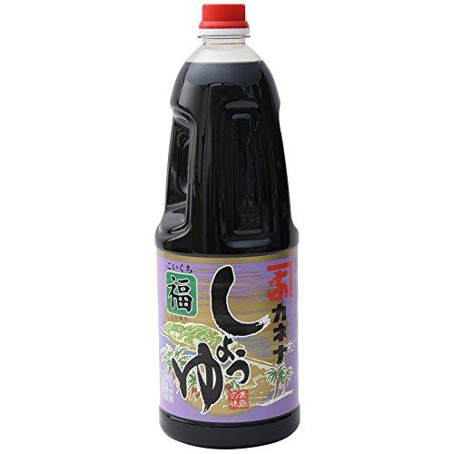 長友味噌醤油醸造元 カネナしょうゆ カネナこいくちしょうゆ「福」(甘口) 1800ml