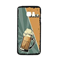 すまほケース ハードケース Galaxy S7 edge SC-02H・SCV33 対応 BEER ビール・グリーン ビンテージ アメリカン レトロ USA SAMSUNG サムスン ギャラクシー エスセブン エッジ docomo au すまほカバー 携帯ケース 携帯カバー beer_00z_h191@03