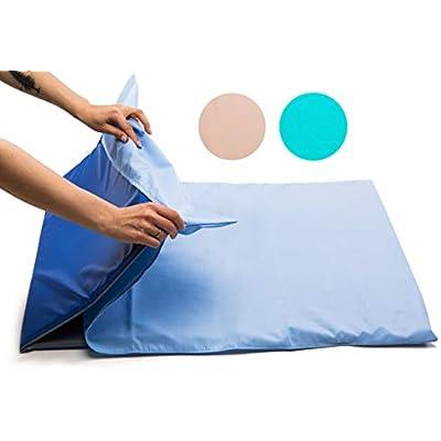 Nursery Sleep MAT /♥ Waterproof /• Triple Folding Rest Mats /• Toddler Sleeping Mattress /• Baby Nap Time /• No 1 Choice for Childminder and Daycare Set of 10, Blue//Grey