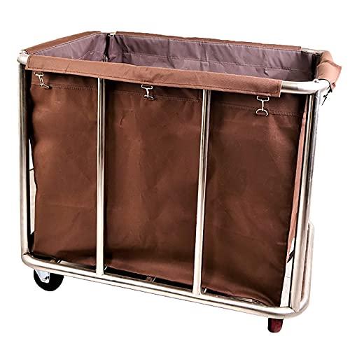 SGSG Carro para cesto de Limpieza de artículos para el hogar -...
