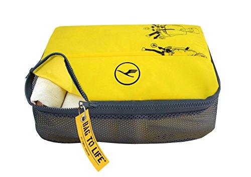 BAG TO LIFE Lufthansa 'Easy Packing Etui' Kleidertasche Reisetasche Travelbag Unikat