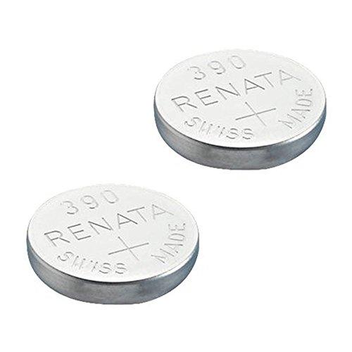 Renata 390 Batterie 390 (SR1130SW), silber, Stück: 2