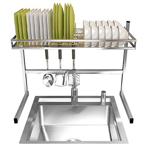LRZLZY roestvrij stalen keukenframe frame frame afdruiprek afwasbak onderstel servies