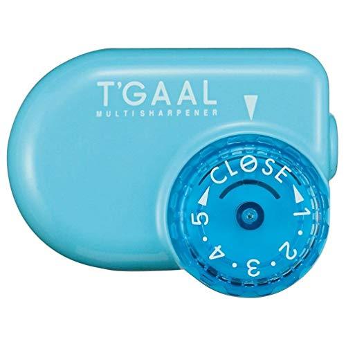 Kutsuwa STAD T'GAAL Angle Adjustable Pencil Sharpener (RS017LB),Light Blue