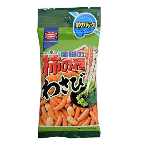 亀田製菓 ポケパック (柿の種わさび, 80袋)