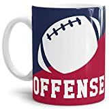 Tassendruck Football-Tasse Offense Kaffeetasse/Mug/Cup/- Qualität Made in Germany