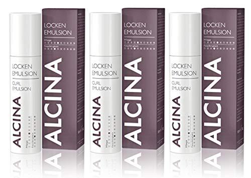 3x Alcina Locken-Emulsion 100ml