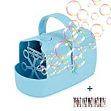 Product Image of the Supkiir Bubble Machine, Automatic Bubble Blower Portable Auto Bubble Maker...