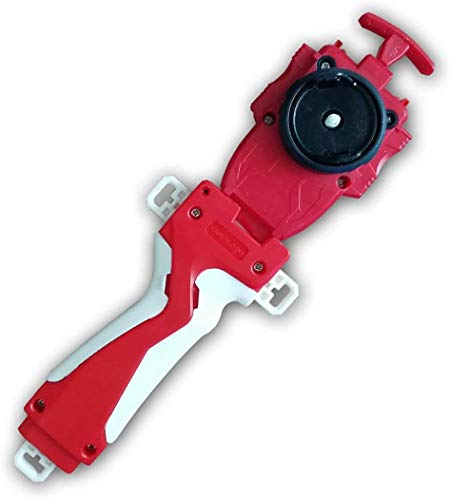Launcher and Grip, Battling Top Burst Starter String Launcher, Strong Spining Top Toys Accessories(Red)