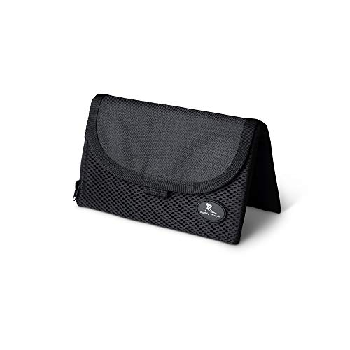 """Running Buddy Magnetic Buddy Pouch: Magnet Pocket Pouches for Cell Phones, iPhone & Other Gear - Beltless Running Pouch Waist Bag for Running, Walking, Fitness, Workout, and Traveling:Black, XL (6 3/4"""" x 4"""")"""