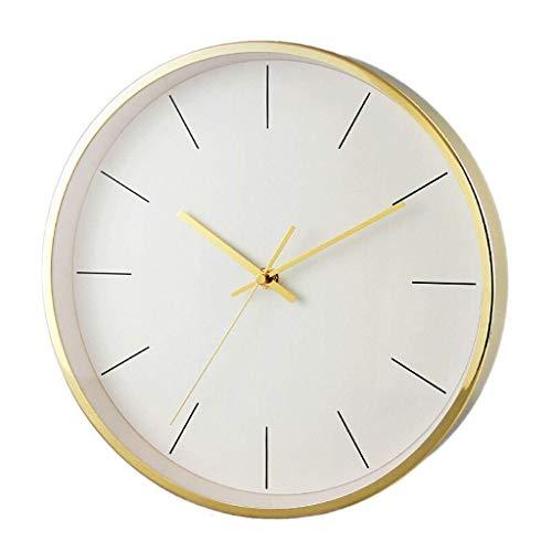 AIOJY Reloj De Pared Reloj De Pared De Cuarzo Nórdico, Sala De Estar Reloj Silencioso