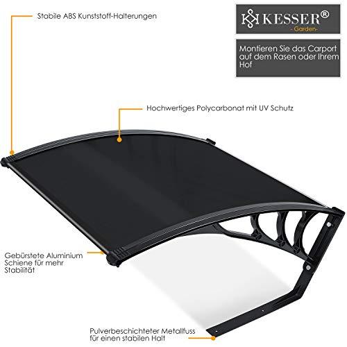 Kesser® Mähroboter Garage Dach Carport Überdachung - 2