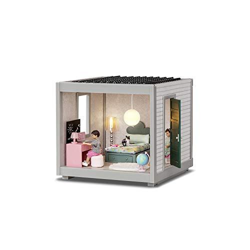 Lundby 60102200 - Modul  Room für Puppenhaus Life und Creative - Puppenhaus-Zubehör - 22 cm breit - Wohnung - ab 4 Jahre - Erweiterung - Stockwerk - für 11 cm Puppen - Minipuppen 1:18