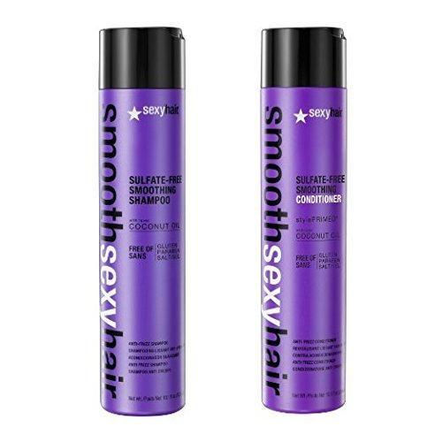 Sexy Hair Sulfate-Free Smoothing Shampoo and Conditioner - 10.1 Ounce