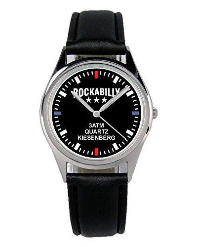 Rockabilly Musik Geschenk Artikel Idee Fan Uhr B-2489