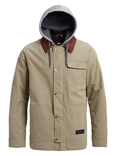Burton Dunmore Chaqueta de Snowboard, Hombre, marrón (Hawk), XL