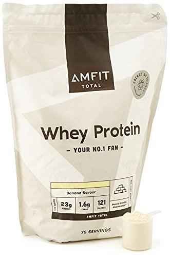 Marca Amazon - Amfit Nutrition Proteína de Suero de Leche en Polvo 2.27kg -...