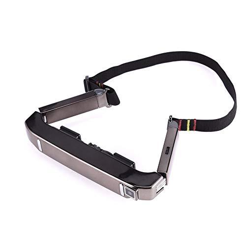 YUHUANG Lunettes intelligentes Vision-800, Lunettes panoramiques virtuelles Android WiFi WiFi VR, Lunettes vidéo Portables Bluetooth, Film privé - Noir