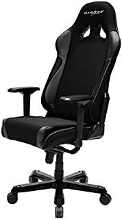DXRacer Sentinel Series OH/SJ11/N Racing Ergo Seat Office Chair Gaming Ergonomic with - Included Head and Lumbar Support Pillows (Black)