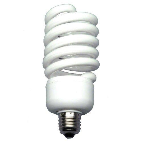 Walimex 16233 pro Spiral-Tageslichtlampe 50 W - DaylightSpirallampeFotolampeEnergiesparlampe,E27Fassung,5500KTageslicht,50Wentspricht250WGlühbirne,fürSoftbox&Reflektor
