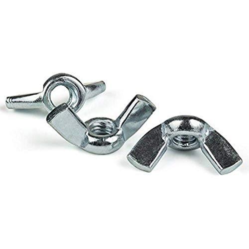 SNUG Fasteners (SNG249) Twenty (20) 5/16-18 Forged Steel Zinc Plated Wing Nuts