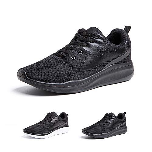 Zapatillas Running Hombre Zapatos Deportivos con Cordones Casuales Sneakers Sport Fitness Gym...