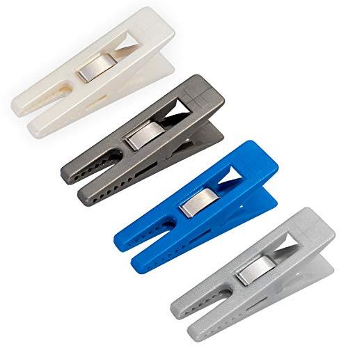 DIYexpert® 24 x Wäscheklammer Sturm 70 x 20 mm bunt Sortiert Mehrzweckklammern - Made in Germany