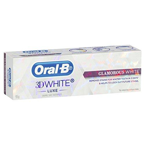 Oral-B 3D Luxe Glamorous White Toothpaste, 95g