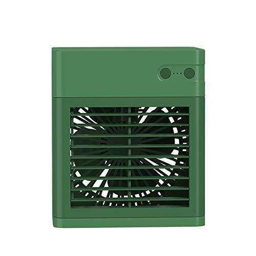 Xuebai Refrigerador de aire portátil recargable fuerte evaporativo inalámbrico ventilador con 3 velocidades para el hogar oficina sala