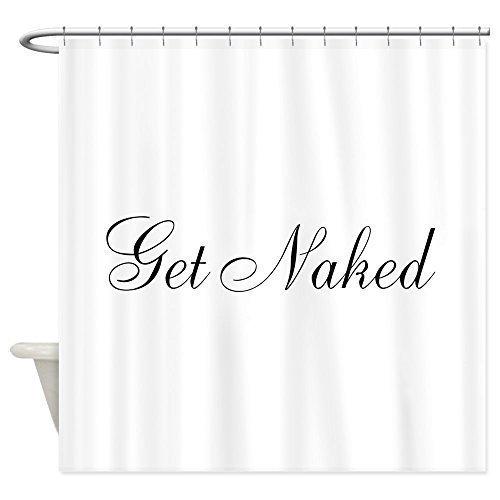 Mesllings unieke badkamer douchegordijn met haken ringen, zwart en wit Chevron Zigzag Wave patroon, extra lange stof gordijnen set, 72 x 72 inch