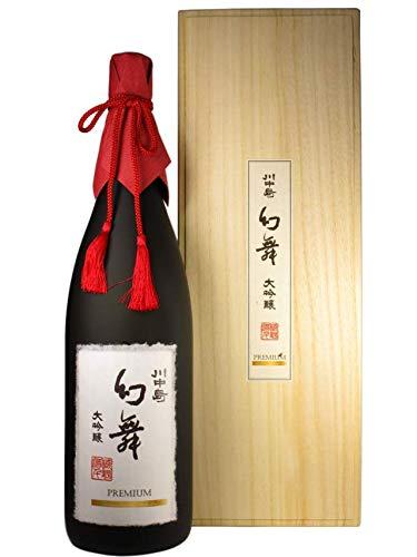 川中島 幻舞 大吟醸 Premium 原酒 1800ml(箱付)