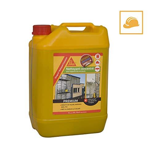 Sika Frankreich S.A.S 452805sikagard Reinigungsmittel Konzentrat für Dach, Fassade und Boden–5L, bläuliches