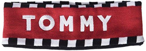 Tommy Hilfiger dames TOMMY LOGO HEAD BAND hoofdband, zwart (Corporate 901), één maat (fabrikantmaat: OS)