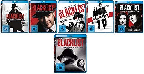 The Blacklist Staffel 1-6 (1+2+3+4+5+6) im Set - Deutsche Originalware [36 Blu-rays]