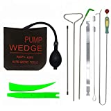 LINMO Full Essentials Kit with Long Reach Tool, Air Wedge, Non Marring Wedge, Pry Tool, Knob Grabber, Angle Hook, Professional Tool for Cars and Trucks