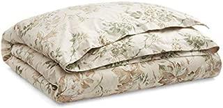 Ralph Lauren Annandale Collection Lindsley Vintage Botanical Floral Cotton Comforter, King, Green Blush Cream