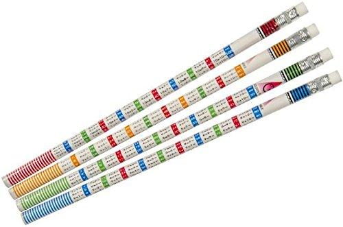 Schnooridoo 12 x Bleistifte Rechnen Einmaleins Schule Kindergeburtstag Mitbringsel Give Away