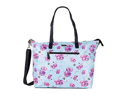 LUV BETSEY by Betsey Johnson womens LBJAYCEE Weekender Bag, Floral, 16.5 L x 15.25 H 7 W US
