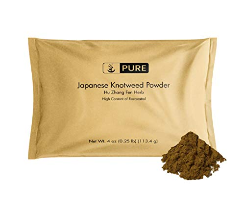 Japanese Knotweed Powder (4 oz) Resveratrol, Chinese Herbal Supplement, Hu Zhang Fen