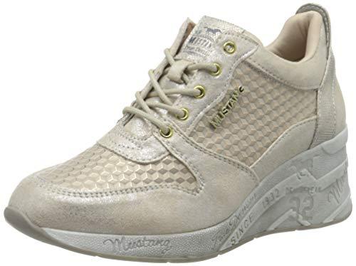 MUSTANG Damen 1319-303-480 Sneaker, Beige (Champagner 480), 39 EU
